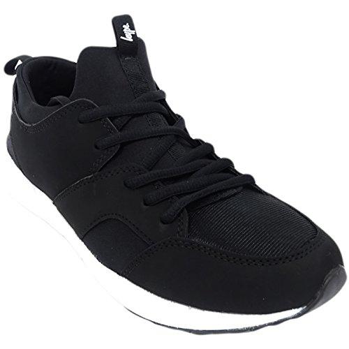 Just Hype Hype Train (16f) - Zapatillas para hombre negro negro, color blanco, talla 38 EU