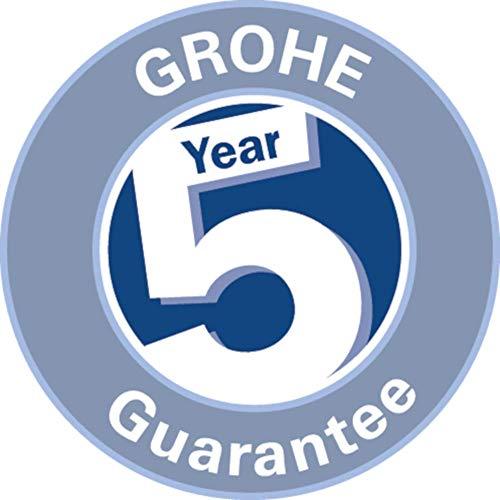 Grohe – K7 Küchenarmatur, mittelhoher Auslauf, Profibrause, Chrom - 5