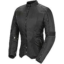 Newfacelook De las mujeres Señoras Motocicleta Impermeable Protector Chaqueta