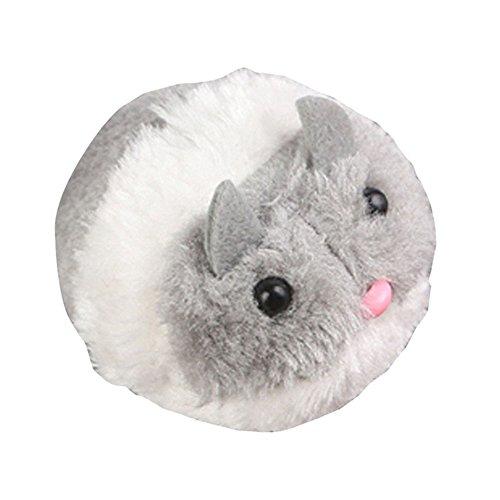 roblue Spielzeug Elektro Maus vibrierende für Katzen Spielzeug Sound Plüsch