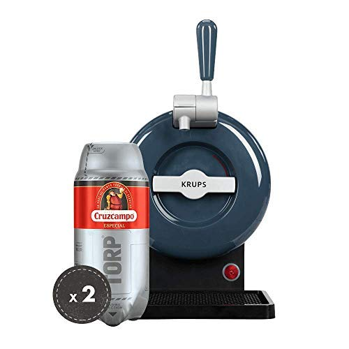 Heineken Pack THE SUB   Barrel beer handle THE SUB Gray Edition + 2 TORP Cruzcampo Special barrel of beer of 2 liters