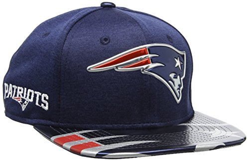 New Era Herren Baseball Cap Nfl 2017 Official On Stage 9fifty England Patriots
