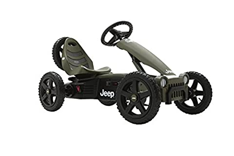 Berg 24.40.10.00 - GoKart Jeep Adventure Pedal-Gokart Kinderfahrzeug