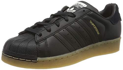 adidas Superstar W, Zapatillas de Deporte para Mujer, Negbás/Gum4 000, 39 1/3 EU