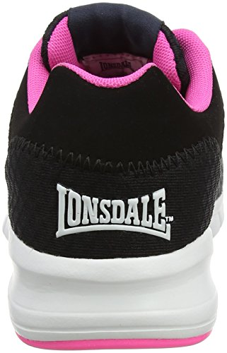 Charcoal Chaussures pink Lonsdale Multisport Outdoor Tydro Femme black Gris Yc1RZq