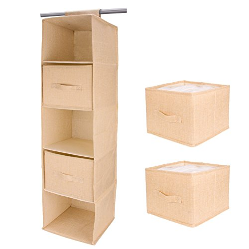 Hanging Closet Organizer 5 Shelves With Buy Online In Japan At Desertcart