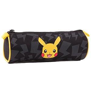 Estuche Redonda Pokémon Pikachu – Medidas 20cm – Diámetro 6.5cm