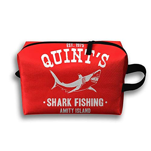 Power Cream Wash (Storage Bag Travel Pouch Quints Shark Fishing Jaws Purse Organizer Power Bank Data Wire Cosmetic Stationery Holder cute makeup bags)