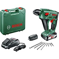 Bosch 060395230F Uneo Maxx Perforateur sans fil  technologie Syneon avec batterie/adaptateur pour forets 18 V 2,5 Ah