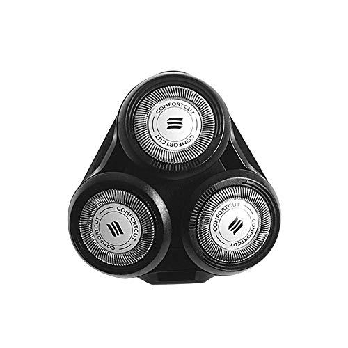jinclonder Dacyflower Shaving Heads Ersatzklingen für Philips S5000 SH70 SH90 RQ10 RQ11 RQ12 (Norelco Sensotouch 3d Rq12 Kopf)