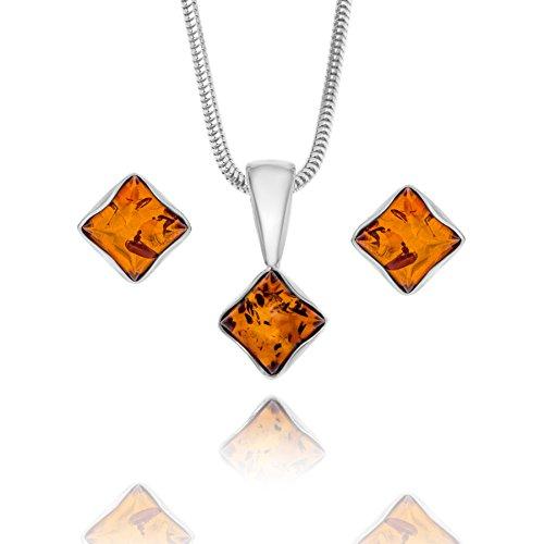 Copal Conjunto de joyas con Ámbar