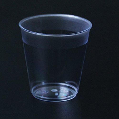 (einweg - becher, die tassen, hart, plastikbecher, verdickung transparente glas 80,direkt - zylinder - b,7 * 7,5 * 4.5cm)