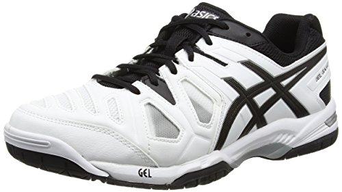 asics-gel-game-5-scarpe-da-tennis-uomo-bianco-white-black-silver-0190-44-1-2-eu