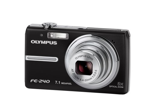 Olympus FE-240 Digitalkamera (7 Megapixel) in Black