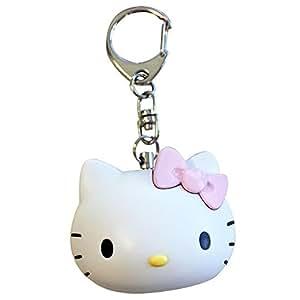 Bonjour Kitty mascotte prevention de la criminalite buzzer rose SAN-411PK