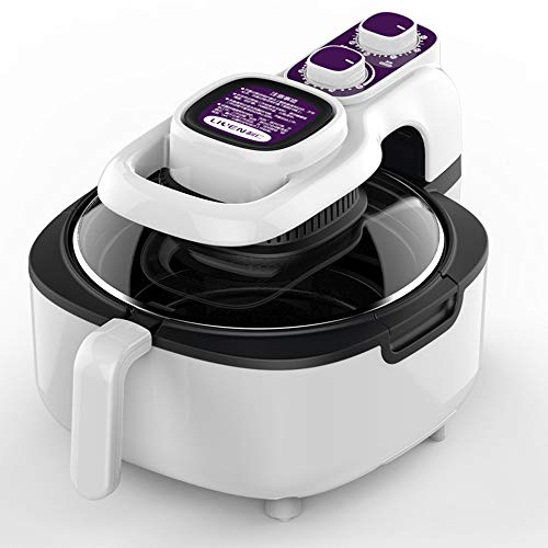 Kuan-Air fryer Freidora eléctrica para Uso doméstico, freidora eléctrica sin Humo para...
