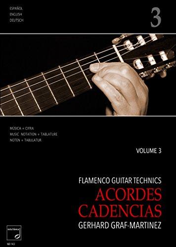 Flamenco Guitar Technics Vol.3–acordes, cadenzias: