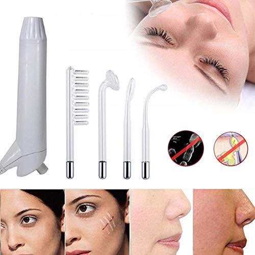 JJHZ Portable Hochfrequenz Elektrotherapie Stäbe Die Akne Stellen Falten Remover Geeignet Für Akne Typ Haut Und Schönheitspflege