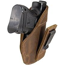 Barsony Holsters & Belts Dimensione 15 Beretta Glock S&W Toro destra Marrone Fondina in pelle tuckable