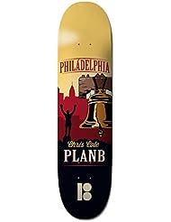 Plan B Traveler Cole Plateau de Skateboard Mixte Adulte, Multicolore