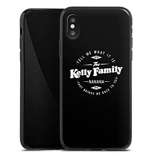 Apple iPhone 6 Silikon Hülle Case Schutzhülle The Kelly Family Nanana Merchandise Fanartikel Silikon Case schwarz