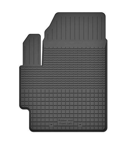Fußmatten Gummimatten Winter Auto-matten Gummi hoher Rand 1-teilig einzeln Fahrerseite (Colts-fußmatten)