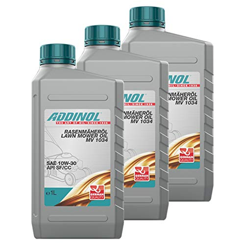 Addinol 3X Rasenmäheröl Lawnmower Lawn Mower Oil 10W-30 Mv 1034 1L 72102307