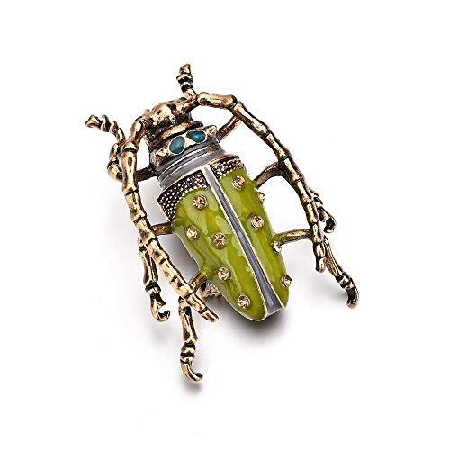 xuyinting Broche de Insecto por Goteo Delicado simulador Punk...