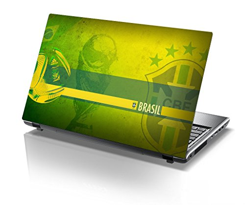 Imagination Era - Brazil World Cup,Football,Sport, Skin For Laptop of 17.5 inch of Dell-lenovo-Acer-HP-Vaio-Asus-Toshiba  available at amazon for Rs.190