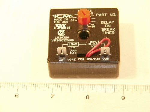 Delay on Break 6 sec to 8 min Mars 32392 Aftermarket Replacement Adjustable Time Delay