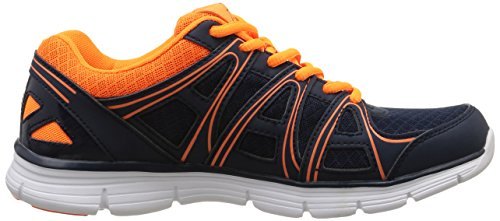 Kappa - Ulaker mesh marine org - Chaussures mode ville Bleu (Navy Blue/Orange)