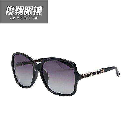 neue kette beine, star - sonnenbrille, meine damen, pfeffer, sonnenbrille, großen rahmen, polarisator, gezeiten, cc5210,leopard