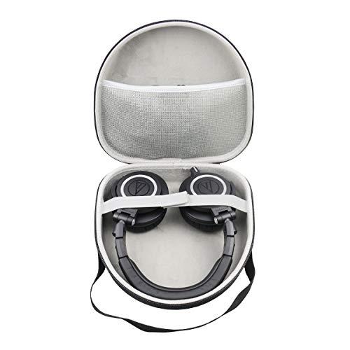 für Audio-Technica ATH-M50x ATH-M40x DJ-Kopfhörer für Studio Hart Reise Lagerung Tragen Taschen Hülle von SANVSEN (Tasche Kopfhörer Dj)