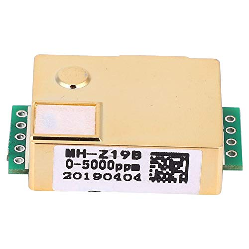 Huakii Elektronischer MH-Z19 CO2-Sensor, Kohlendioxid-Gassensor Kohlendioxid-Gassensor -