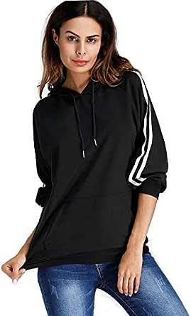 Khhalisi Women's Full Sleeves Sweatshirt Hoodie