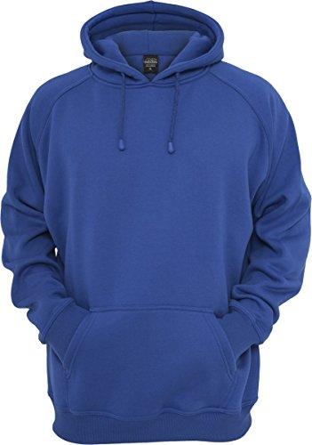 Urban Classics TB014 Sweatshirt, Hoodie Herren, Kapuzenpullover einfarbig, Balu (Royal), Gr. 3XL (Royal Blue Sweatshirt Klassisches)