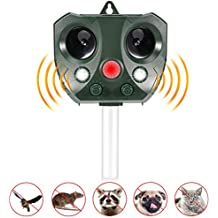 Volador Repelente para Gatos, Repelente Ultrasónico para Animales, Ultrasonidos Ahuyentador de Animales y Plagas