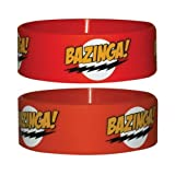 Big Bang Theory - Armband Bazinga Red (in One Size)
