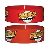 Big Bang Theory - Armband Bazinga Red (in One Size)