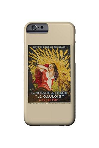 le-gaulois-vintage-poster-artist-cappiello-leonetto-france-c-1927-iphone-6-cell-phone-case-slim-bare