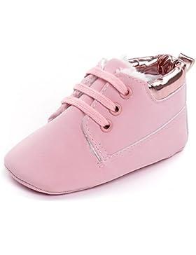 estamico Infant Jungen Sneakers Stiefel PU Sneakers