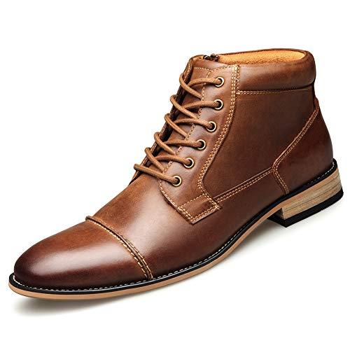 Keds Chukka (Mens Chukka Boot Dress Shoe Strap Cap Cap Toe Boot schwarz braun,B,US10=EU43)