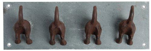 Esschert LH151 4-er Haken Hundeschwänze -