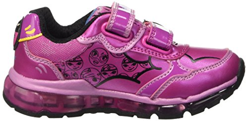 Geox J Android B, Baskets Basses Fille Pink (Dk FUCHSIAC8321)