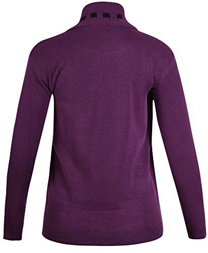 Purple Hanger - Pull - Femme Pourpre