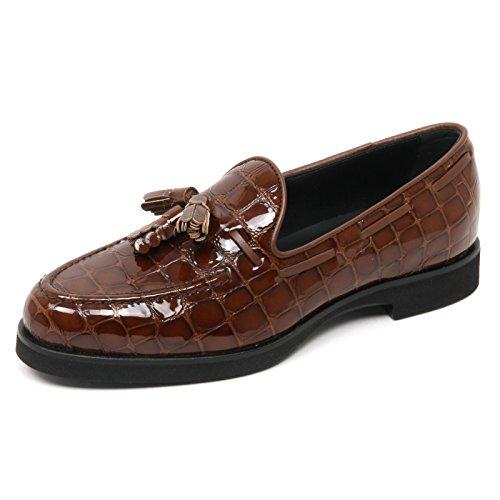 B9022 mocassino donna TOD'S scarpa nappine marrone loafer shoe woman Marrone
