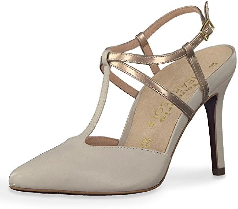 Tamaris 1-1-29611-20 492 - Zapatos de Vestir de Piel Lisa Para Mujer -