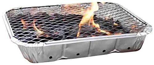 41W5n9QGnLL - SmashingDealsDirect Einweg-Grill - schneller und einfacher Grill, bereit zum Kochen in 20 Minuten - Mini BBQ Grill