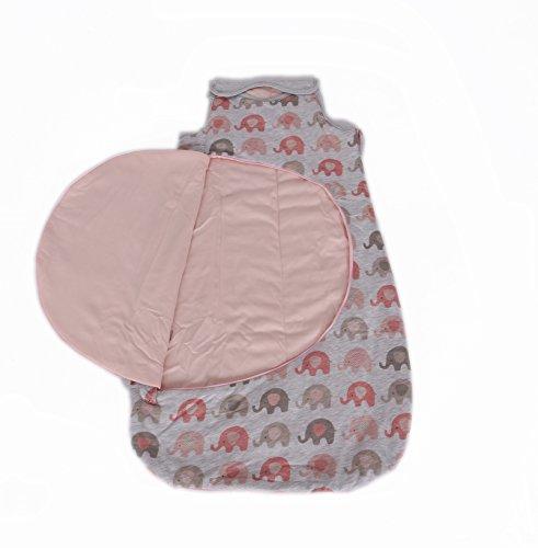 myhoppi–Saco de dormir para bebé | práctica cremallera de cambio de pañales...