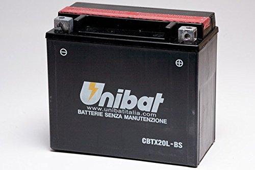batteria UNIBAT CBTX20L-BS DYNA Per Dyna dal 1991 al 2016